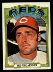 1972 Topps #614  Ted Uhlaender  Front Thumbnail