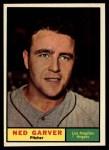 1961 Topps #331   Ned Garver Front Thumbnail