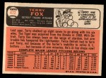 1966 Topps #472   Terry Fox Back Thumbnail
