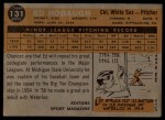 1960 Topps #131  Rookie Stars  -  Ed Hobaugh Back Thumbnail