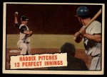 1961 Topps #410   -  Harvey Haddix Pitches 12 Perfect Innings Front Thumbnail