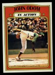 1972 Topps #558  In Action  -  Blue Moon Odom Front Thumbnail