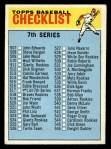 1966 Topps #517 COR  Checklist 7 Front Thumbnail