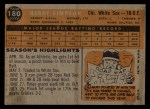 1960 Topps #180   Harry Simpson Back Thumbnail