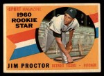1960 Topps #141   -  Jim Proctor Rookies Front Thumbnail
