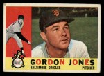 1960 Topps #98   Gordon Jones Front Thumbnail