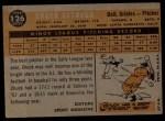 1960 Topps #126  Rookies  -  Chuck Estrada Back Thumbnail