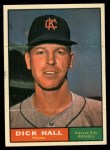 1961 Topps #197   Dick Hall Front Thumbnail