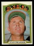 1972 Topps #331   Stan Swanson Front Thumbnail