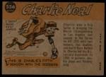 1960 Topps #556  All-Star  -  Charlie Neal Back Thumbnail