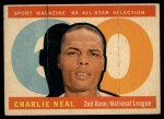 1960 Topps #556   -  Charlie Neal All-Star Front Thumbnail