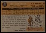 1960 Topps #137  Rookie Stars  -  Lou Klimchock Back Thumbnail