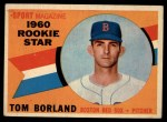 1960 Topps #117  Rookies  -  Tom Borland Front Thumbnail