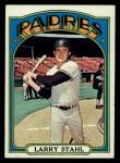 1972 Topps #782   Larry Stahl Front Thumbnail