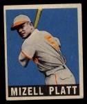 1949 Leaf #159  Mizell Platt  Front Thumbnail