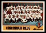 1976 Topps #104  Reds Team Checklist  -  Sparky Anderson Front Thumbnail