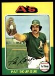 1975 Topps #502   Pat Bourque Front Thumbnail