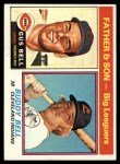 1976 Topps #66  Father and Son  -  Gus Bell / Buddy Bell  Front Thumbnail