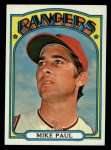 1972 Topps #577   Mike Paul Front Thumbnail