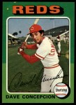 1975 Topps #17  Dave Concepcion  Front Thumbnail