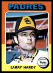 1975 Topps #112   Larry Hardy Front Thumbnail