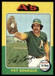1975 Topps #502   Pat Bourque Front Thumbnail