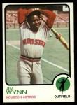 1973 Topps #185   Jim Wynn Front Thumbnail