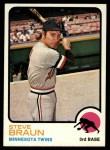 1973 Topps #16   Steve Braun Front Thumbnail
