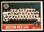 1976 Topps #118  Red Sox Team Checklist  -  Darrell Johnson Front Thumbnail