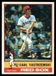 1976 Topps #230   Carl Yastrzemski Front Thumbnail