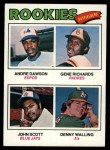 1977 Topps #473   -  Andre Dawson / Gene Richards / John Scott / Denny Walling Rookie Outfielders   Front Thumbnail