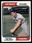 1974 Topps #9   Mickey Lolich Front Thumbnail