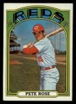 1972 Topps #559   Pete Rose Front Thumbnail