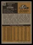 1971 Topps #200   Bart Starr Back Thumbnail
