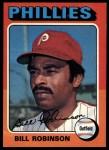 1975 Topps #501  Bill Robinson  Front Thumbnail