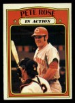 1972 Topps #560  In Action  -  Pete Rose Front Thumbnail