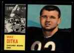 1962 Topps #17  Mike Ditka  Front Thumbnail