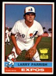 1976 Topps #141  Larry Parrish  Front Thumbnail