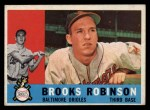 1960 Topps #28   Brooks Robinson Front Thumbnail