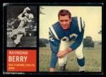 1962 Topps #5   Raymond Berry Front Thumbnail