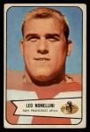 1954 Bowman #76   Leo Nomellini Front Thumbnail
