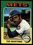 1975 Topps #637   Ted Martinez Front Thumbnail