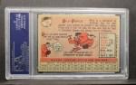 1958 Topps #50 YT  Bill Pierce Back Thumbnail