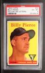 1958 Topps #50 YT  Bill Pierce Front Thumbnail
