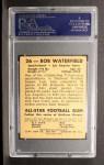 1948 Leaf #26 BLK Bob Waterfield  Back Thumbnail