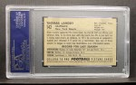 1952 Bowman Small #142  Tom Landry  Back Thumbnail