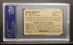 1952 Bowman Small #16   Frank Gifford Back Thumbnail