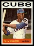 1964 Topps #175   Billy Williams Front Thumbnail