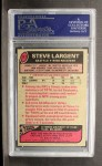 1977 Topps #177   Steve Largent Back Thumbnail