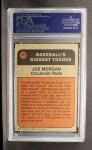 1972 Topps #752  Traded  -  Joe Morgan Back Thumbnail